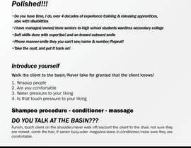 #1 para Design a hairdressing info sheet-PDF de murugeshdecign