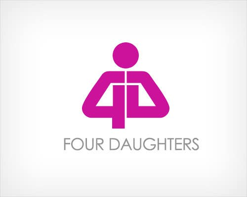 #125 for Logo Design for 4 Daughters (Four Daughters Ltd) and typeface by RBM777