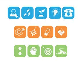 #64 cho Design 13 icons bởi mille84