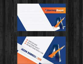 thanhsugar86 tarafından Business Card Design for AttorneyBoost.com için no 206