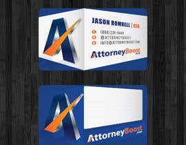 thanhsugar86 tarafından Business Card Design for AttorneyBoost.com için no 204