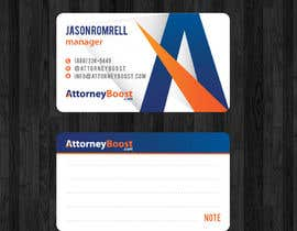 nº 251 pour Business Card Design for AttorneyBoost.com par thanhsugar86
