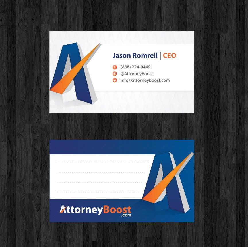 Konkurrenceindlæg #182 for Business Card Design for AttorneyBoost.com