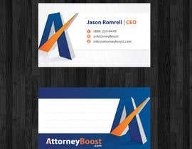 #182 cho Business Card Design for AttorneyBoost.com bởi thanhsugar86