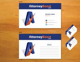 nº 196 pour Business Card Design for AttorneyBoost.com par GDesignGe