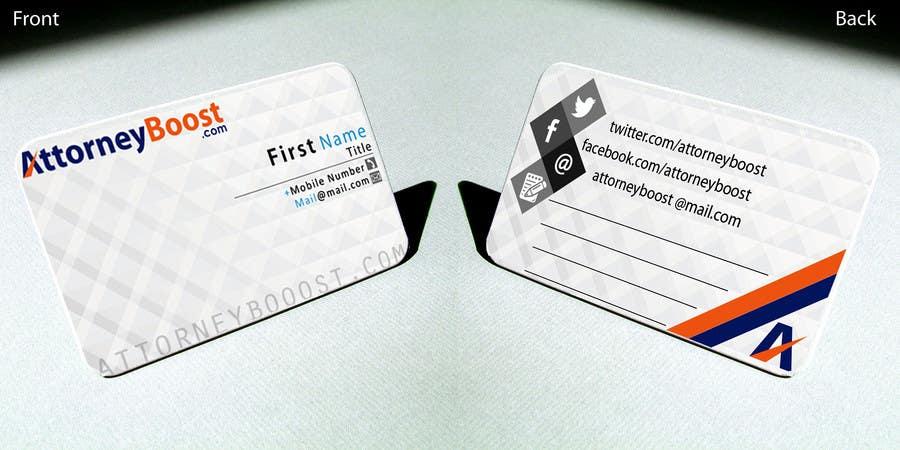 Konkurrenceindlæg #191 for Business Card Design for AttorneyBoost.com