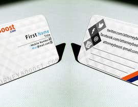 #191 untuk Business Card Design for AttorneyBoost.com oleh ayushjain26