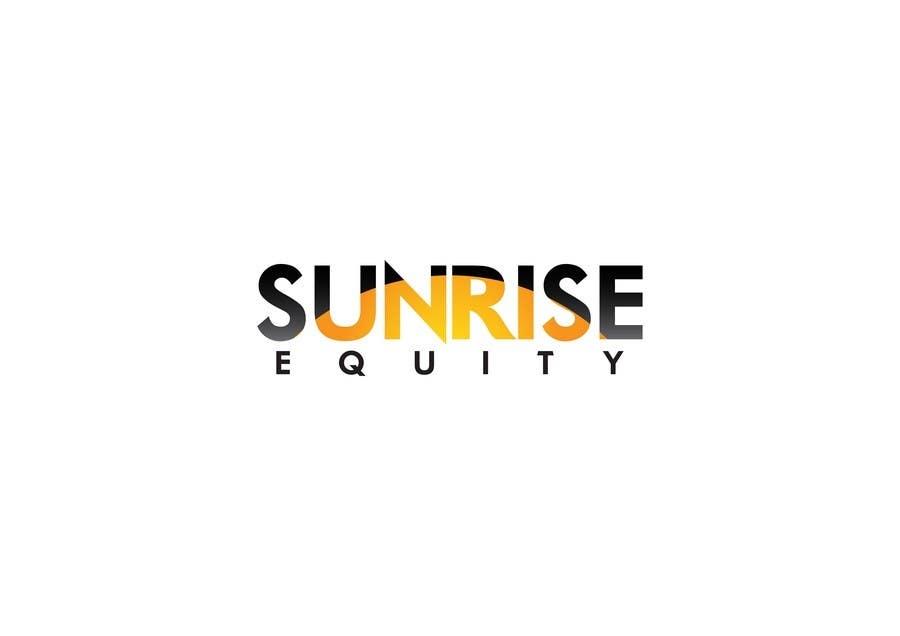 Penyertaan Peraduan #709 untuk Logo Design for Sunrise Equity