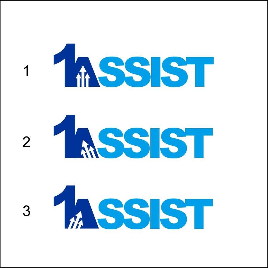 Penyertaan Peraduan #340 untuk Logo Design for 1 Assist