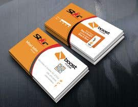 #45 para Boost Mobile Business Card por Graphichouse1399