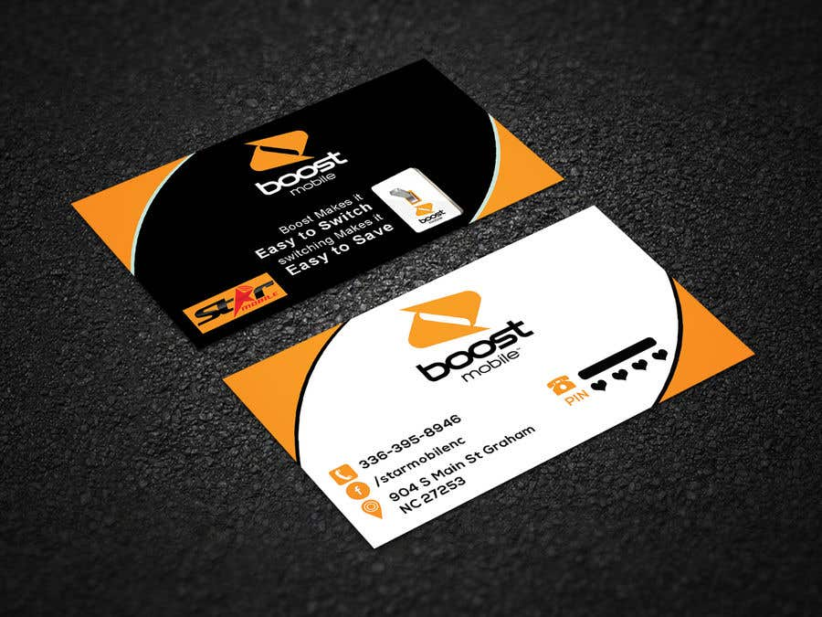 business card - Mobile Business Card