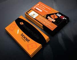 #32 para Boost Mobile Business Card por kawsarhamid1991