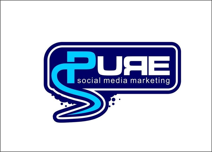 Конкурсная заявка №208 для Logo Design for PURE Social Media Marketing