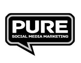 #226 para Logo Design for PURE Social Media Marketing por kxhead