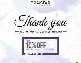 #1 for Design a Thank You Flyer A6 Size by kamifari