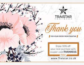 #13 for Design a Thank You Flyer A6 Size by creativesailor