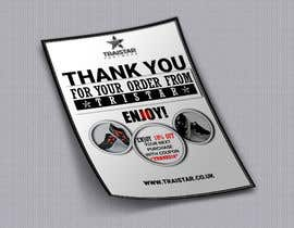 #25 for Design a Thank You Flyer A6 Size by imtahth