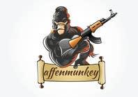 Proposition n° 24 du concours Graphic Design pour Design a simple mascot / monkey / caricature