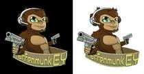 Proposition n° 35 du concours Graphic Design pour Design a simple mascot / monkey / caricature