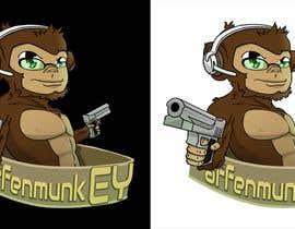 nº 35 pour Design a simple mascot / monkey / caricature par guilhermcosta