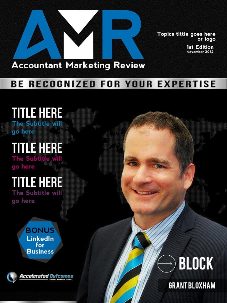 Penyertaan Peraduan #                                        37                                      untuk                                         Graphic Design for Accountant Marketing Review Magazine (Edit existing InDesign template)