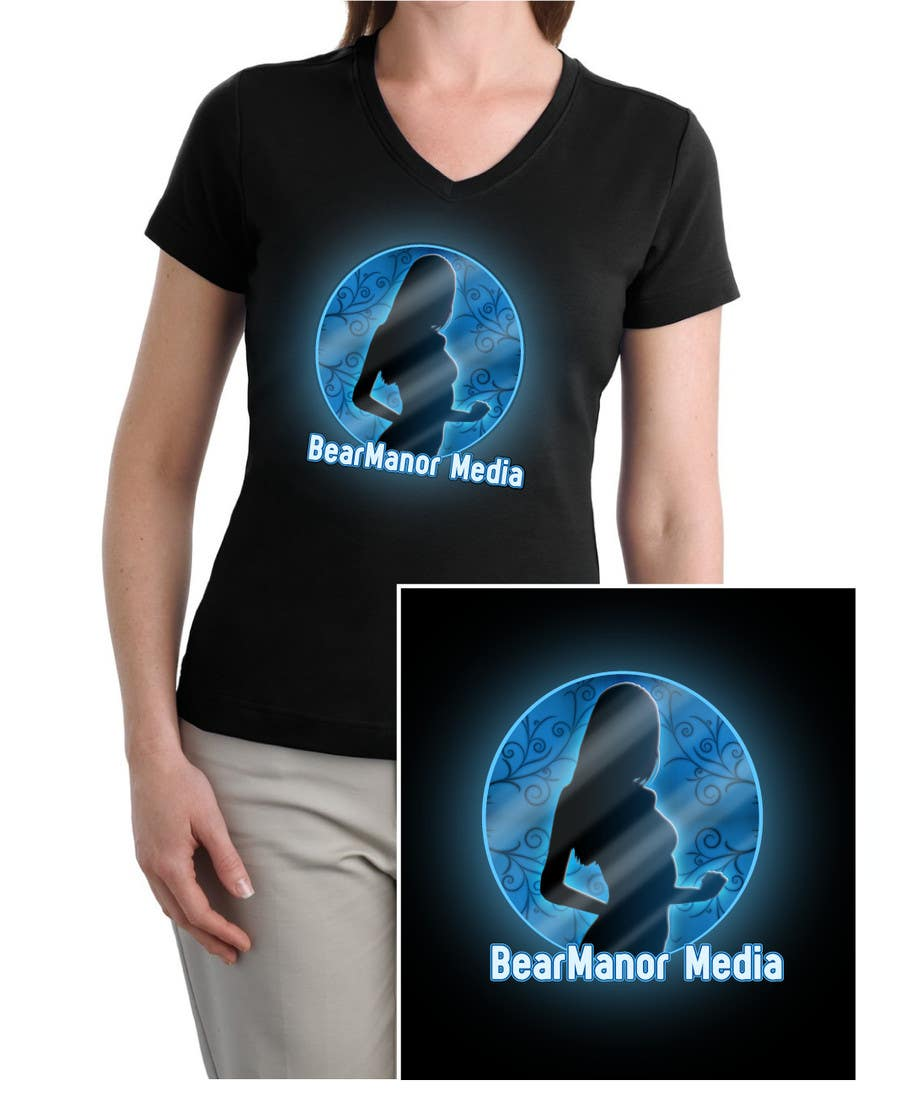 Proposition n°                                        58                                      du concours                                         T-shirt Design for BearManor Media