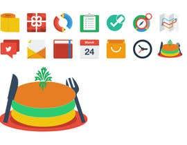 "#57 para Symbol / Icon for ""Food"" or ""Eating"" por new1ABHIK1"