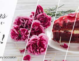 #35 para Cake and Bouquet Banner de ilkonsulova