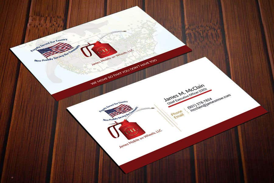 entry 68 by saju163 for company business cards design freelancer