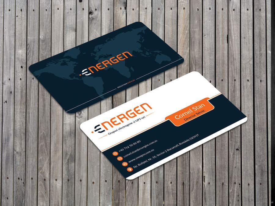 Entry #230 by husibulislam for Design an engaging business card ...
