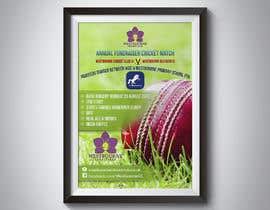 #22 pentru Fundraiser Poster Design for Print - Cricket! de către khblimon