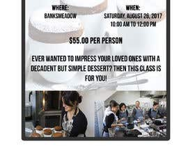 #34 cho Design a flyer for a Souffle Class bởi fabianny15
