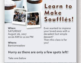 #3 cho Design a flyer for a Souffle Class bởi Ichwan94