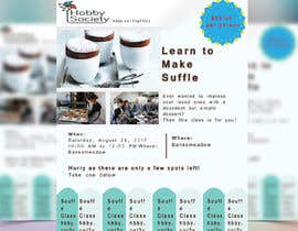 #33 cho Design a flyer for a Souffle Class bởi clickjustdesign