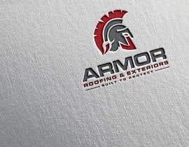 #380 per Logo Design for Armor Roofing & Exteriors da DibakarFreelanc