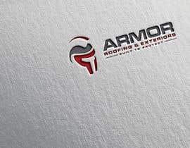 #381 per Logo Design for Armor Roofing & Exteriors da DibakarFreelanc