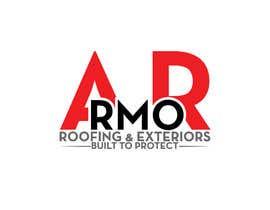 #390 per Logo Design for Armor Roofing & Exteriors da designerabubakar