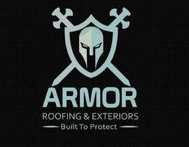#376 per Logo Design for Armor Roofing & Exteriors da Avijit09