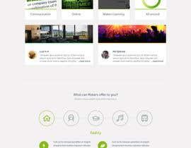 #16 for Design a Website Mockup for http://makers.dk af arunkoshti