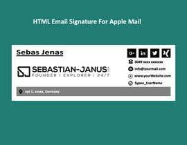 #22 cho Develop a HTML signature bởi kowsur777