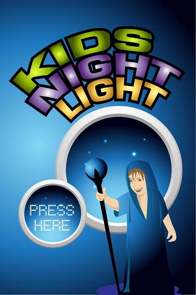 Kilpailutyö #74 kilpailussa Kids Night Light Graphic Design for App