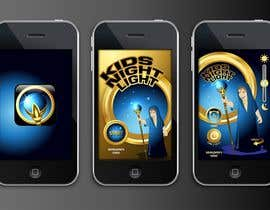 #76 para Kids Night Light Graphic Design for App por thefinalstory