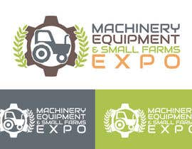 #55 untuk Design a Logo for Machinery, Equipment and Small Farms Expo oleh vladspataroiu