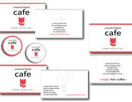 "nº 20 pour Design of 2 business cards, a ""Free Coffee"" card and a sticker logo par LillyPetrova"