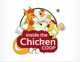 #7 cho Logo Design for Inside The Chicken Coop bởi oscarhawkins