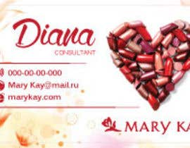 #16 cho Design some Business Cards for a new Mary Kay business bởi dianalakhina
