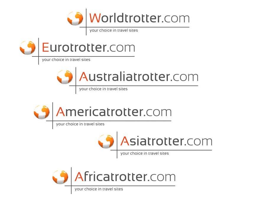 Inscrição nº 289 do Concurso para Logo Design for travel website Worldtrotter.com