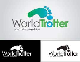 #179 dla Logo Design for travel website Worldtrotter.com przez tiffont