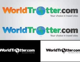 #207 dla Logo Design for travel website Worldtrotter.com przez tiffont