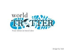 #73 para Logo Design for travel website Worldtrotter.com de indrasan99